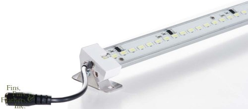 Current USA TrueLumen Pro LED Strip Light with Canopy Brackets, 12,000k Diamond White, 24 Inches (3013)