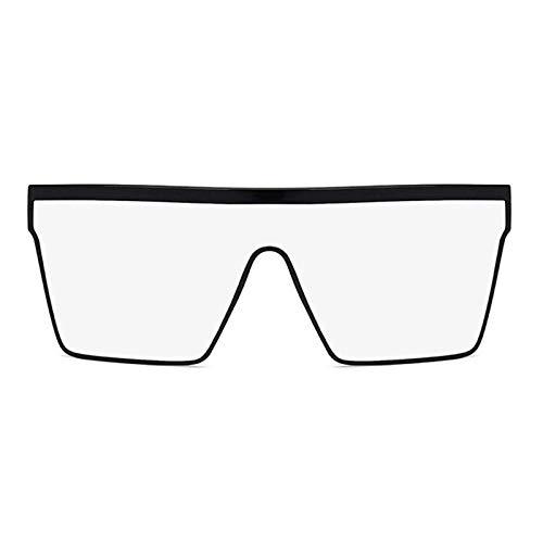 Gafas De Moda Gafas De Sol Gafas De Sol Cuadradas Clásicas Vintage para Mujer Gafas De Sol De Gran Tamaño Siameses Gafas De Sol Retro para Mujer