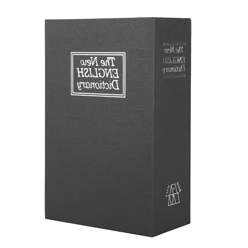 Caja De Seguridad, Libro De Simulación Caja De Seguridad Diseño De Apariencia De Simulación para Oficina para El Hogar para Joyería para Dormitorio Escolar para Dinero Privado