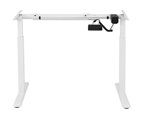 StandXT elektrisch höhenverstellbares Schreibtischgestell C03-22 Basic, Farbe:weiß