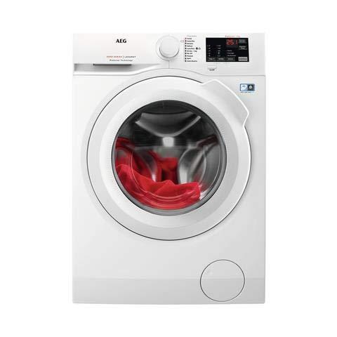 AEG L6FBI741 lavatrice 8 kg a Libera installazione, Caricamento frontale Bianco 7 kg , A+++