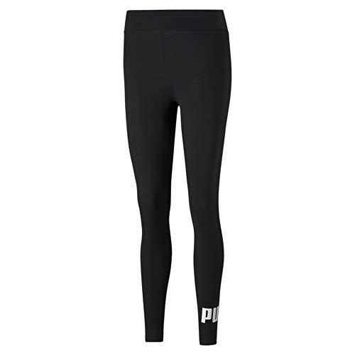 Puma Damen Leggings ESS Logo Leggings, Black, M, 586832