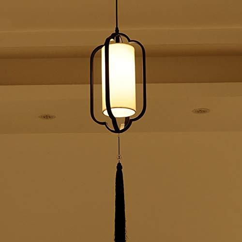 BAIJJ kroonluchter Chinese restaurant antiek modern en minimalistisch LED kroonluchter voor lunch keuken creatieve bar verlichting trappen thee (maat: 1 kop)