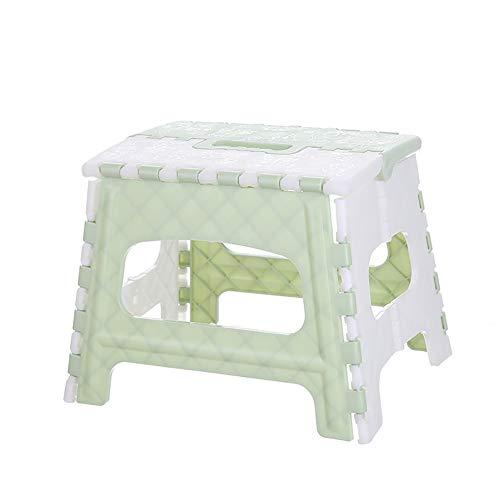 WYXR Klappbarer Fußhocker - Klapphocker - Sitzhocker - Klappstuhl für Camping, Garten, Terrasse und Balkon geeignet,Blau