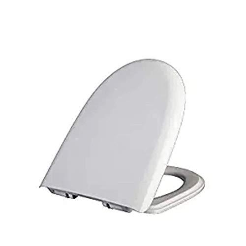 Asiento de Inodoro, U/V/O Forma WC Compatible Cover, Cubierta Cubierta 42-47.5X36CM Cuarto de baño WC