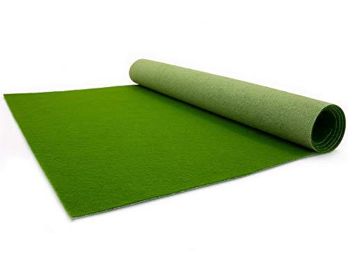VIP Event-Teppich-Läufer, Hochzeitsläufer PODIUM - Waldgrün, 1,00m x 2,00m, Hochzeitsteppich, Empfangsteppich, Eventteppich, Teppichboden für Messe & Event