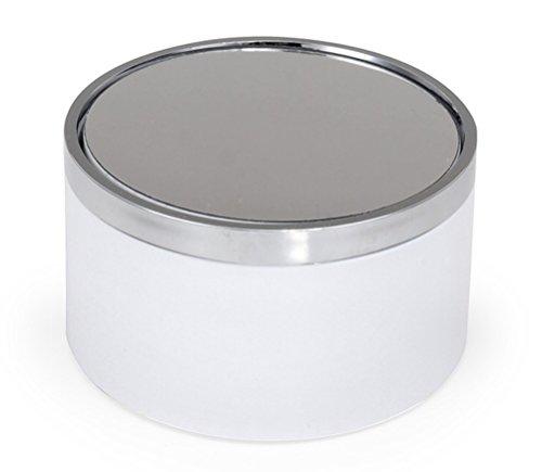 ウェーブ ディスプレイ ターンテーブル (LW2) ホワイト ABS素材 単三電池1本使用 直径83×H47mm 耐荷重 200g ディスプレイ用品 TT-062 ディスプレイ用アクセサリ