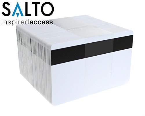 1 x Salto RFID Chipkarte MIFARE® 1K mit Magnetstreifen Plastikkarten Blanko