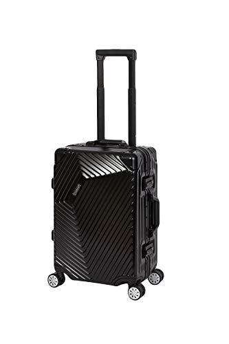 %SALE Travelhouse Roma Koffer schwarz S-55cm Bordkoffer · Alu Rahmen · Polykarbonat...