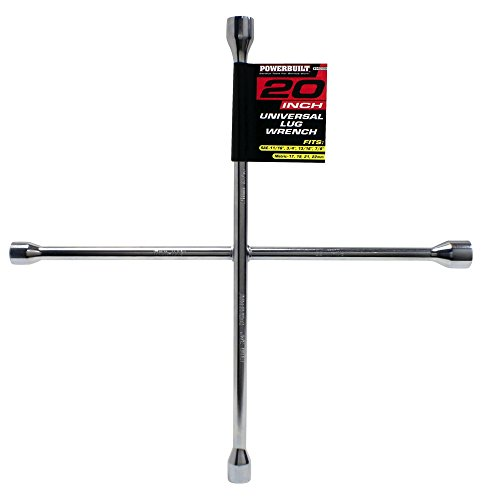 Powerbuilt 940559 Universal Lug Wrench