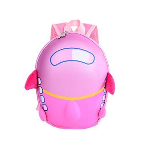 AAGOOD Kinderrucksack Schutzgefederte Sichere Neuheit Kinder Charakter Rucksack mit Innen Sleeve -Multifunction Rucksack