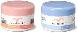 Set of 2 Rebirth Placenta Anti Wrinkle Cream Day Cream 100 Ml. + Rebirth Emu Anti-Winkle with AHA Night Cream 100 Ml. by Rebirth INC