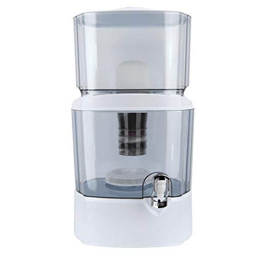 Ausla Filtro purificador de agua de 5 etapas, 24 l, sistema de filtración de purificador de agua de 24 l, máquina de sistema de filtración para uso doméstico y oficina