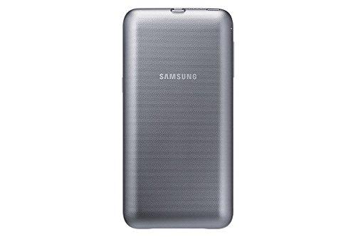 Samsung Power Cover mit induktiver Ladefunktion für Galaxy S6 Edge Plus, silber