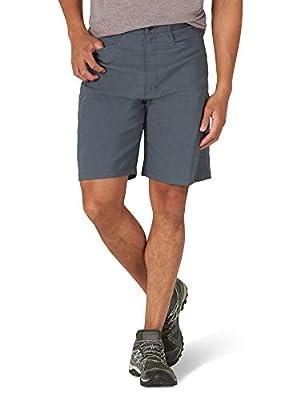Wrangler Authentics Men's Performance Comfort Flex Cargo Short, granite, 32