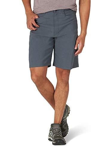 Wrangler Authentics Men's Performance Comfort Flex Cargo Short, granite, 30