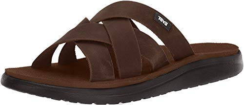 Action Sports Teva DE Voya Slide Leather Sandal Mens