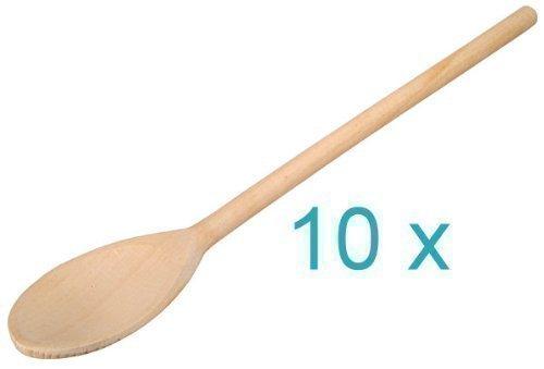 Cuillère de cuisine ovale, 30 cm, 10 Pièces