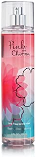 Bath and Body Works Pink Chiffon Fine Fragrance Mist 8 Ounce Tall Rounded Bottle