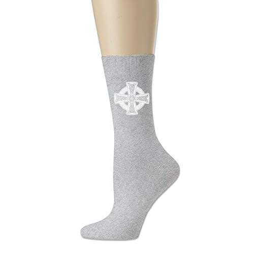 Cotton Crew Unisex Soccer Socks Cotton Socks-The Celtic Cross