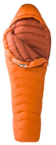 Marmot Lithium Schlafsack, orange (Blaze/Dark Rust), 183 cm
