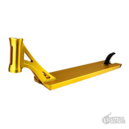 Nitro Circus Ryan Williams Signature 540 - Cubierta para patinete, color dorado