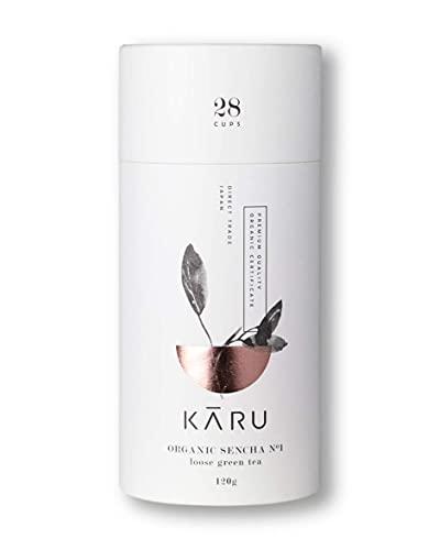 Premium Bio Sencha N°01 von Karu - Grüntee aus Japan - Geschenk-Verpackung...