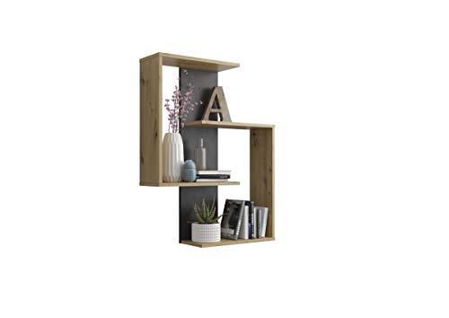 FMD furniture Wandregal, Spanplatte, ca. 65 x 85 x 20 cm