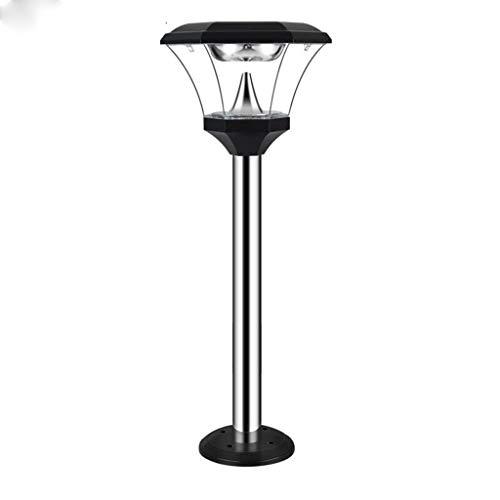 TBUDAR Lámpara de Piso Lámpara de jardín de luz de Exterior Lámpara de pie de jardín Led de jardín Impermeable al Aire Libre Villa Luz de Puerta Lámpara de pie Luz de pie Ajustable (Color : B)
