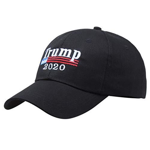 LEEDY Ausverkauf Unisex American Flag Baseball Cap 2019 Campaign Cap Make America Great Again Donald Trump Sun Visor Hats Baseball Mütze