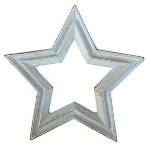 キャストアイアン スタートリベット(星型)なべ敷き アンティークホワイト CAST IRON STAR TRIVET