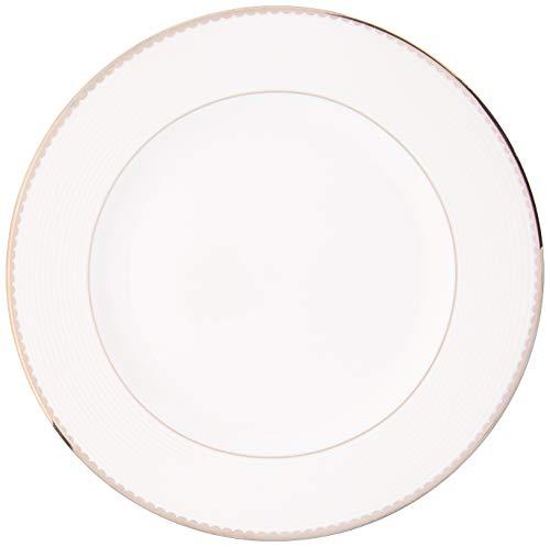 KATE SPADE - Plato para ensalada (1 libra), color blanco
