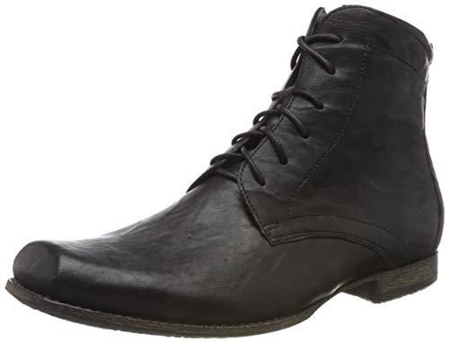 Think! Herren Guru_585699 Desert Boots, Schwarz (Schwarz 00), 42 EU