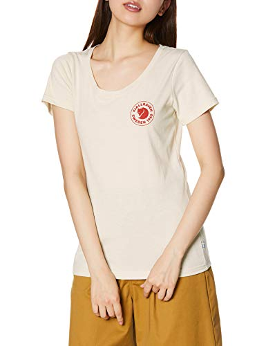 Fjällräven 1960 Logo T-Shirt W, Gesso Bianco, L Donna