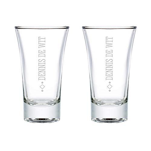 Shotglas - 2 stuks