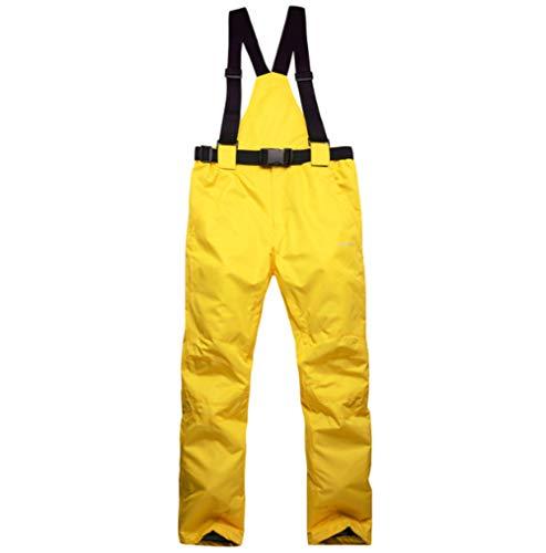 Mitef Pantalones de esquí para Adultos, cálidos, Acolchados, Resistentes al Viento, Impermeables, Pantalones de Snowboard y tamaños