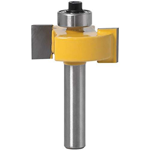 YJIA Ball-Typ Messergriff 8 T 8 * 1/2 Export Rillklinge Schneider Holzbearbeitungswerkzeug Messer Professional T-Ball Holzbearbeitungswerkzeuge