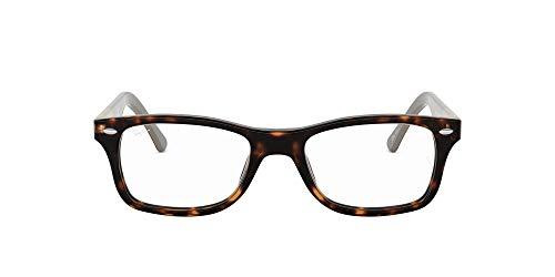 Ray-Ban Damen 0rx 5228 5545 53 Brillengestell, Braun (Havana)