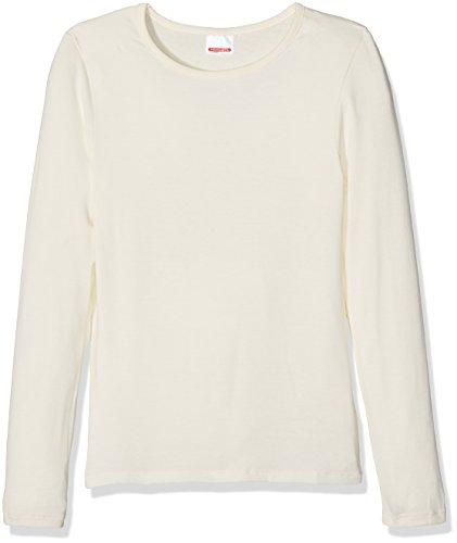Damart Damart Mädchen Tee-Shirt Manches Longues Thermolactyl Sensitive Thermounterwäsche - Oberteil, Écru (Écru), 4 Jahre