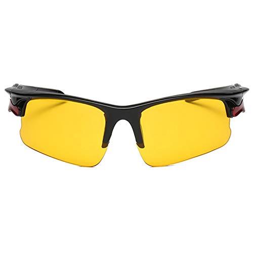sympuk Gafas de Sol Deportivas para Hombres y Mujeres Gafas de Sol de Ciclismo con protección UV400 Gafas de Sol Deportivas TAC Marcos de PC para Conducir Correr Actividades al Aire Libre attractively