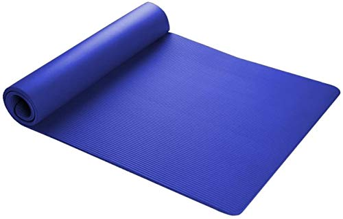 ZHENG Esterilla Yoga Colchonetas de Yoga Espesar 15 Mm Ancho Anchndet Fitness Mat De Yoga Manta De Yoga
