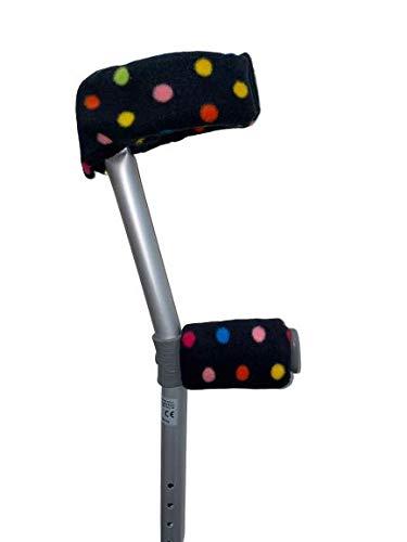 Crutch Handle Hand/Arm Covers - Sleeves - Cuffs - Pads - Crutches - Pair -...