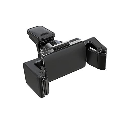 Huposdxjczzj Soporte Movil Coche, Soporte de teléfono de 360 Grados Teléfono Teléfono Soporte de Soporte de automóvil para teléfono de 4-6.5 Pulgadas (Color : Gray)