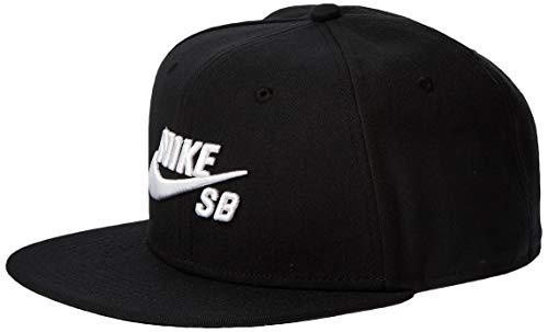 NIKE Schirmmütze SB Icon Pro Gorra, Unisex Adulto, Black/Black/Black/(White), MISC