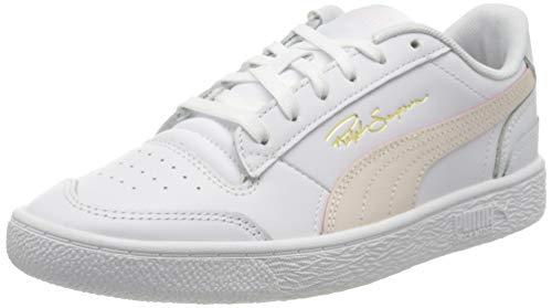 Puma Unisex-Erwachsene Ralph Sampson Lo Sneaker, Weiß (Puma White Pink Rosewater Puma White), 36 EU