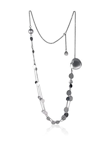 Breil TJ0805 - Catenina con pendente da donna, acciaio inossidabile, 90 cm