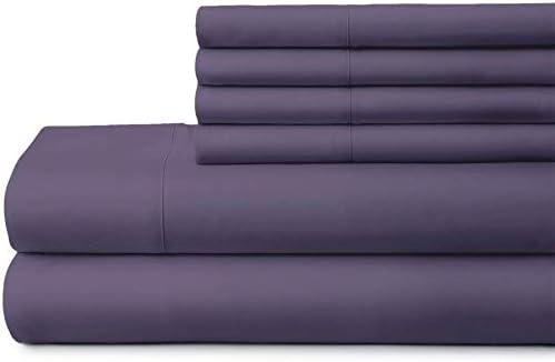 Original 1800-TC Coziest 4 years warranty 100% Heavy mart Cotton Set 4-PCs Sheet Fits