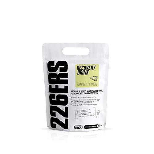 226ERS Recovery Drink   Recuperador Muscular con Proteína Whey, Creatina, Hidratos de Carbono, Triglicéridos y L-Arginina, Sin Gluten, Yogurt Limón - 500 gr