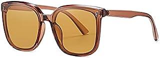 DEYONGDPTYJ Goodr Sunglasses, Polarized Sunglasses For Women Vintage Big Frame Sun Glasses Ladies Shades (Color : Orange)