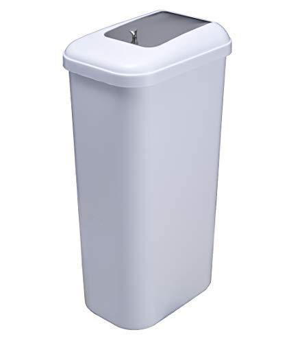 Timblau - Tim-027011 - Contenedor de Residuos Sanitarios en Polipropileno Blanco + abs, 40 litros